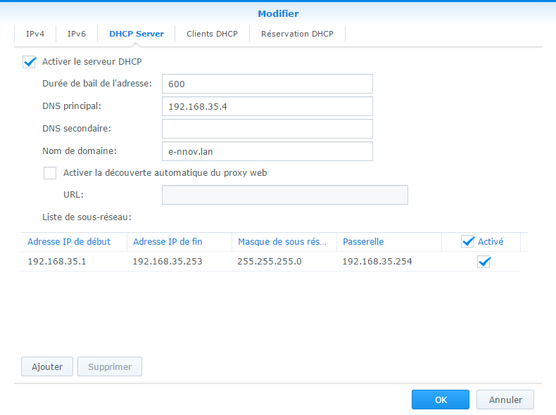 how to change ip address of nas drive